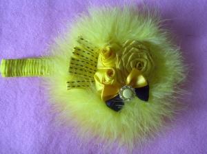 JANESA19 - 30.000 Bandana kuning bulu