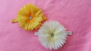 babysee41 - 29.000 (bandana bunga matahari besar diameter 15 cm)