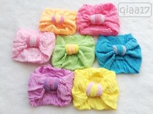 QIAA 17 - 25.000 bandana lebar cocok untuk newborn, ada warna hitam)